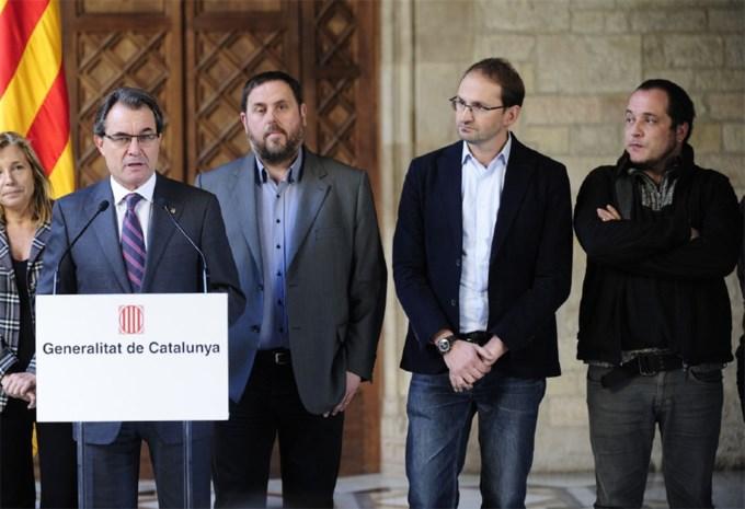Catalanen stemmen in 2014 over onafhankelijkheid