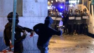 23 gewonden bij rellen in Madrid