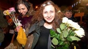 Vrijgelaten Pussy Riot-vrouwen blijven strijden tegen Poetins systeem