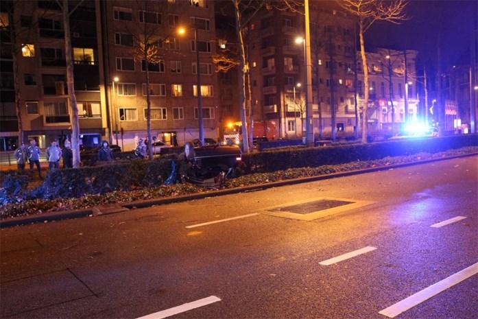 Vier gewonden bij ongeval op Britselei