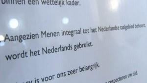 Geen Frans meer in stadhuis Menen (video)