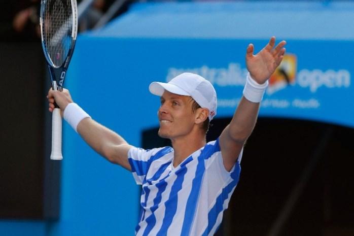 Tomas Berdych naar halve finales Australian Open