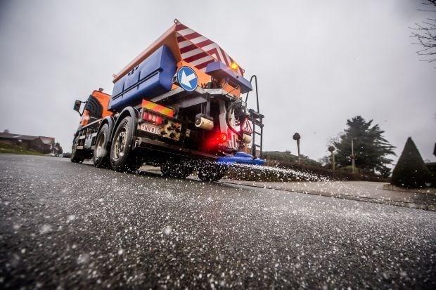 Preventief 683 ton zout gestrooid op Vlaamse wegen