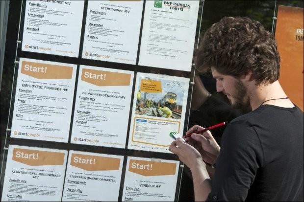 Opnieuw meer werklozen in 2013