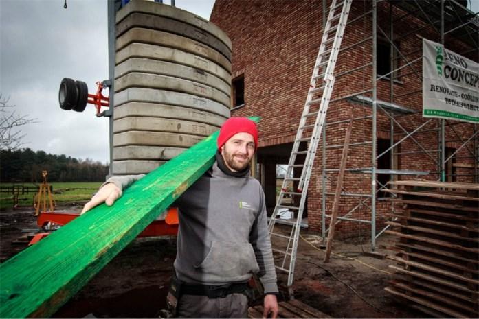 Zachte winter, blije bouwvakkers