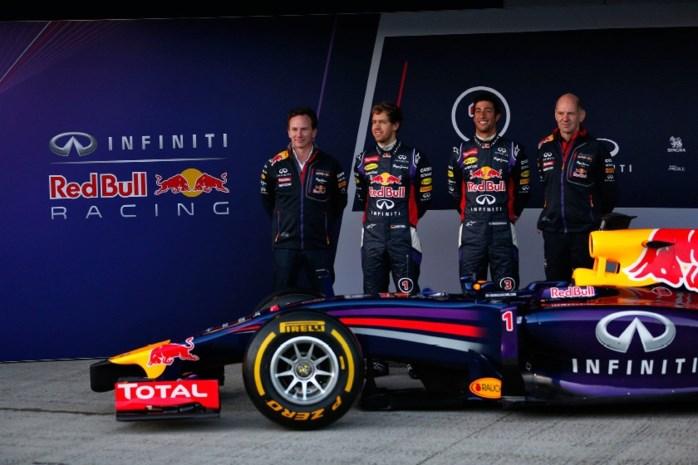 Red Bull en Mercedes showen nieuwe F1-bolides