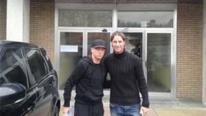 Jonathan Legear brengt bezoek aan KV Mechelen