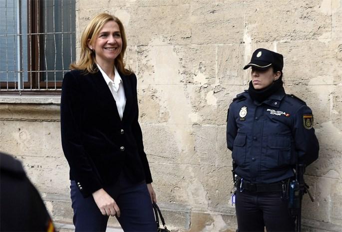 Spaanse prinses Cristina verschijnt voor de rechter