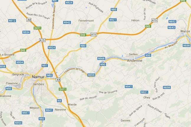 Drie jongeren omgekomen bij verkeersongeval bij Andenne