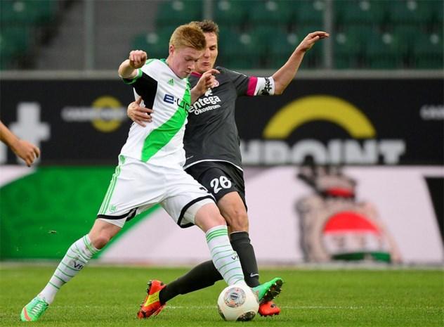 Kevin De Bruyne pakt eerste zege met Wolfsburg