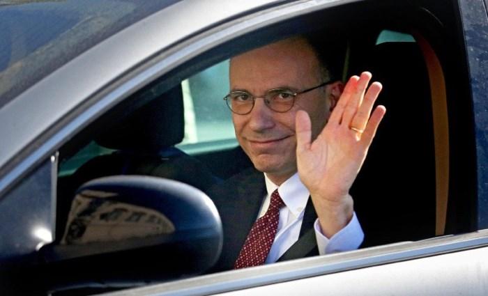 Italiaanse premier Letta heeft ontslag genomen