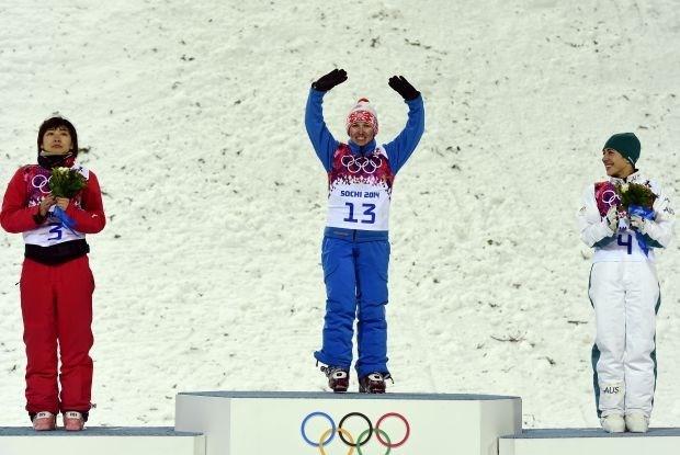 Goud voor Wit-Russische freestyleskiester Alla Tsuper