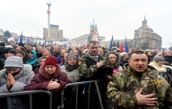 Opposanten evacueren stadhuis Kiev