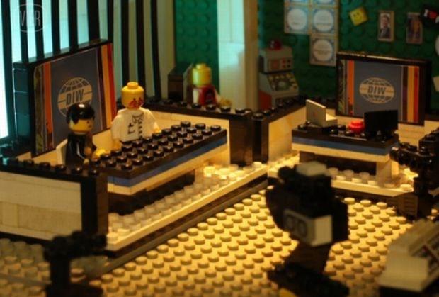 'De Ideale Wereld' in Lego (video)