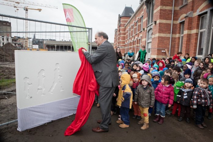Bouw van groot scholencomplex gestart aan Park Spoor Noord