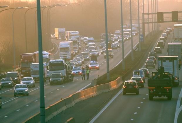 Filerijden naar Antwerpen na ongeval in Ranst
