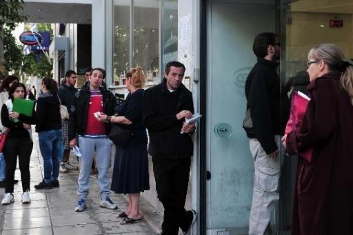 Griekse werkloosheid blijft torenhoog
