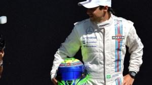 Massa draagt initialen van Schumacher op helm