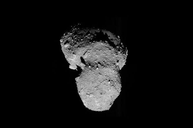 Blik op de Ruimte: Planetoïde uit Kuipergordel