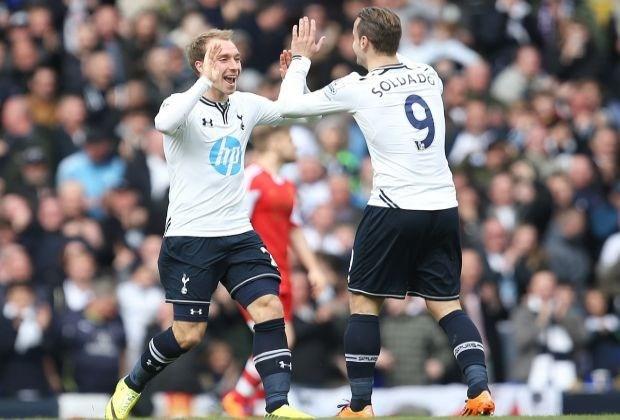 Tottenham-Belgen in slotfase voorbij Southampton