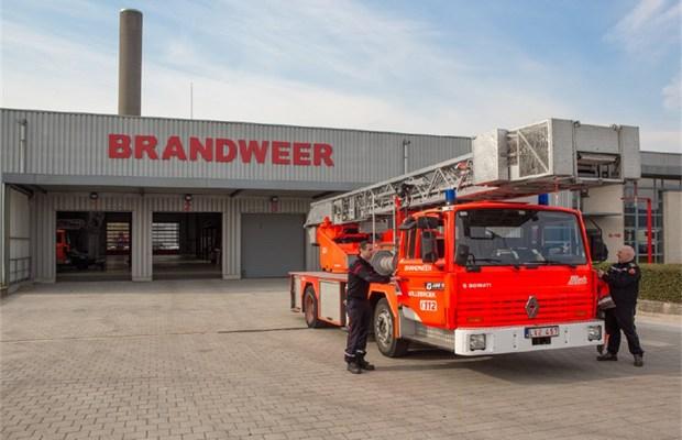 verhuis naar nieuwe brandweerkazerne