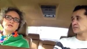 Minister De Coninck bij Bear Grills in de auto (video)
