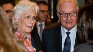 Koningin Paola weer in openbaar na omstreden brief