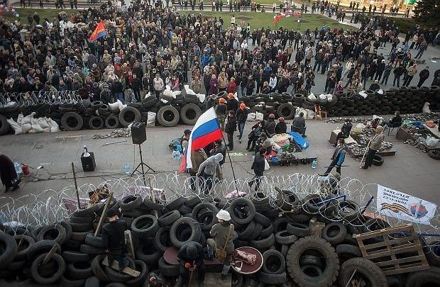 56 van de 60 'gijzelaars' vrijgelaten in Oekraïense Loegansk