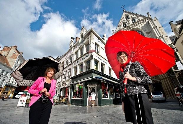 Na 170 jaar einde van paraplu-imperium Huis Eider-Cockx