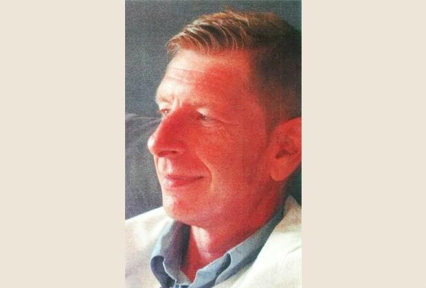 Hans Fahy (49) sinds dinsdag spoorloos