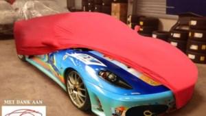 Jeroom beschildert Ferrari Tom Boonen