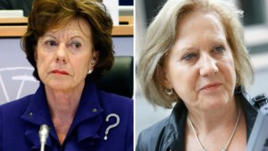 Neelie Kroes in de clinch met Grouwels over taxidienst