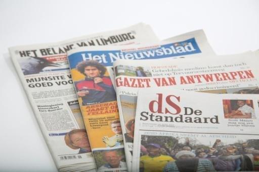 Iets minder Vlaamse kranten verkocht