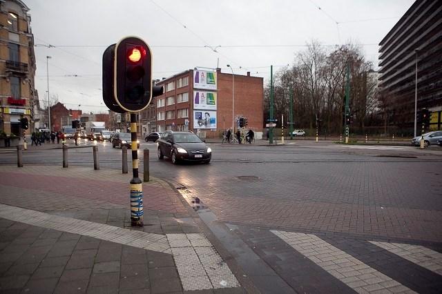 Verkeerslichten op 93% van gewestwegen verkeerd afgesteld