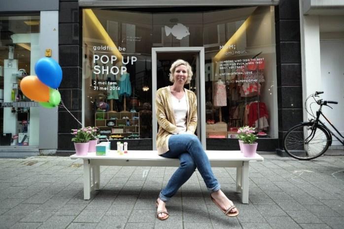 Goldfish.be opent pop-upboetiek in Geitestraat