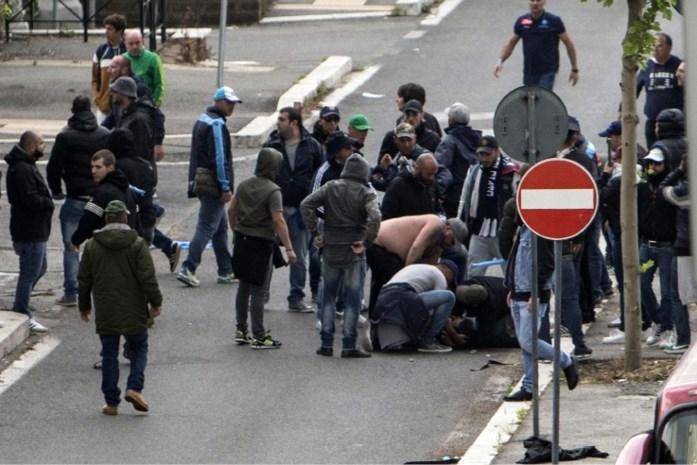 Agent en supporter beschoten voor aanvang van Italiaanse bekerfinale