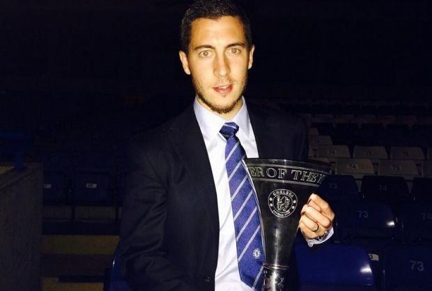 Eden Hazard Speler van het Jaar bij Chelsea