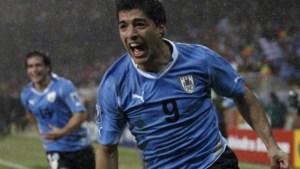 Uruguay rekent op spitsenduo Suarez-Cavani