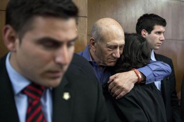 Zes jaar cel voor Israëlische oud-premier Ehud Olmert