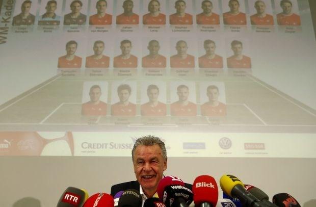 Geen verrassingen in Zwitserse WK-selectie