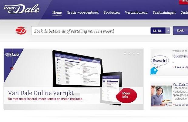 Duizend nieuwe woorden toegevoegd aan Dikke Van Dale Online