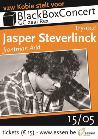 Try-out Jasper Steverlinck