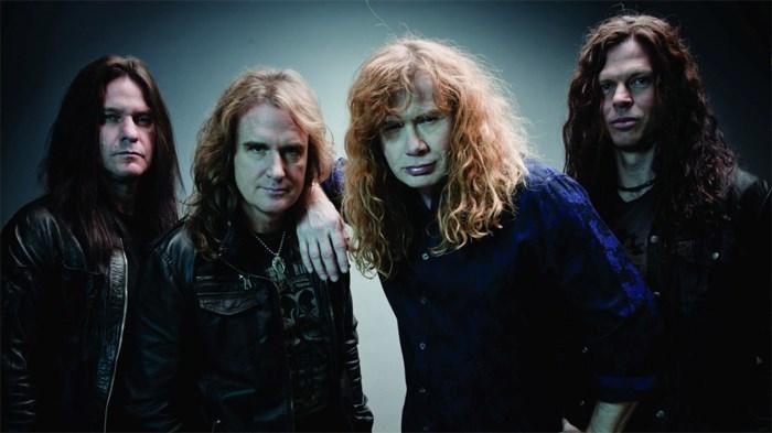 Geen Megadeth op Graspop