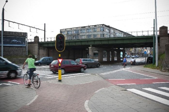 Fietsster kritiek na aanrijding door tram in Borgerhout