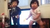 Koreaanse peuters doen PSY helemaal vergeten (video)