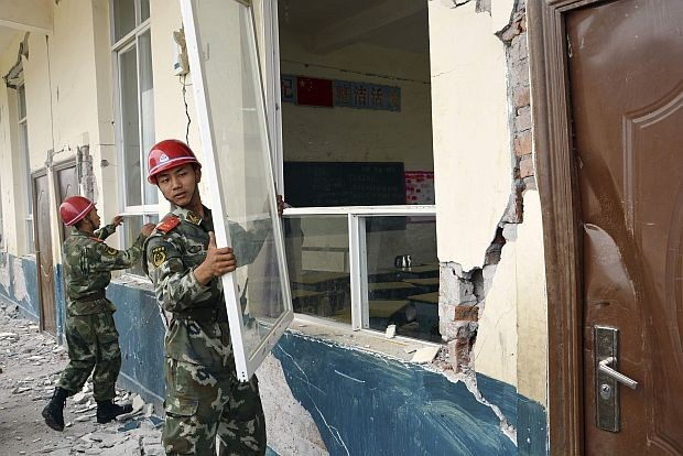 Aardbeving met kracht van 5,9 op schaal van Richter treft zuidwesten van China