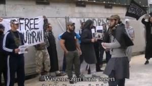 Radicale moslims protesteren aan gevangenis Begijnenstraat (video)