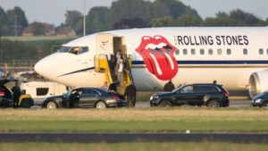 The Rolling Stones geland in Maastricht