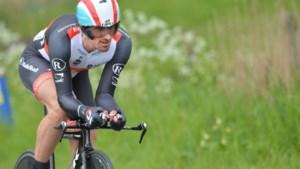 Cancellara valt zwaar op training
