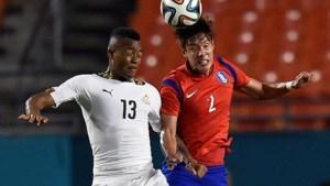 Ghana walst in oefeninterland over Zuid-Korea: 4-0
